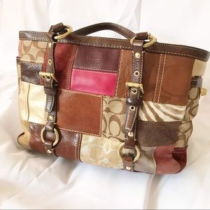 Coach Holiday Bag - Limited Edition